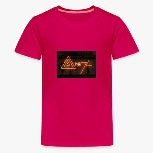 8 no74 02 - Teenager premium T-shirt