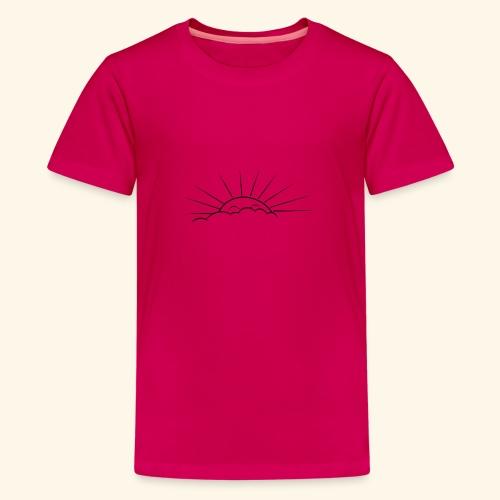 Sunny Smile - Teenage Premium T-Shirt