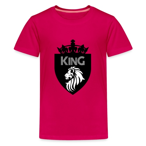 king - T-shirt Premium Ado