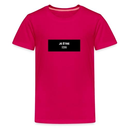 Je Être STMG - T-shirt Premium Ado