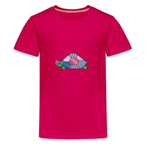purple tortoise - Teenage Premium T-Shirt
