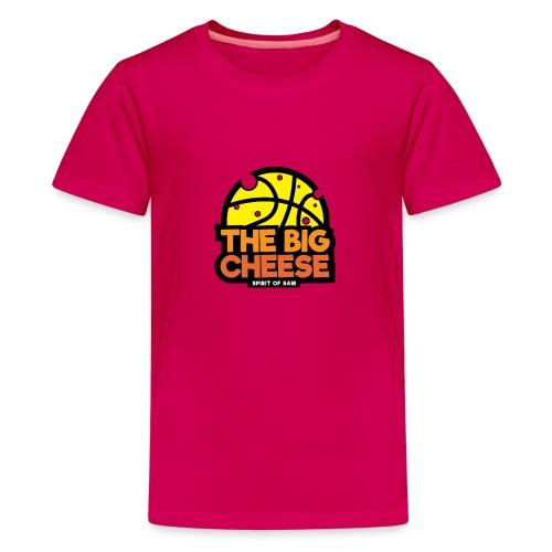 The Big Cheese Logo - Teenage Premium T-Shirt