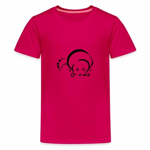 Loutre, design tribal épuré - T-shirt Premium Ado
