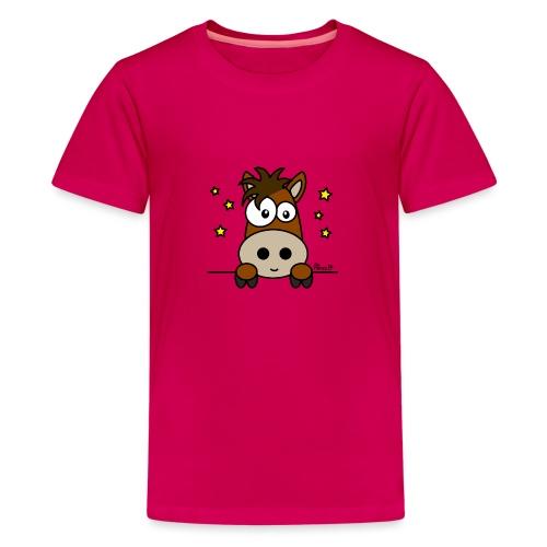 Poney, Pony Club, Sport, Équitation - T-shirt Premium Ado
