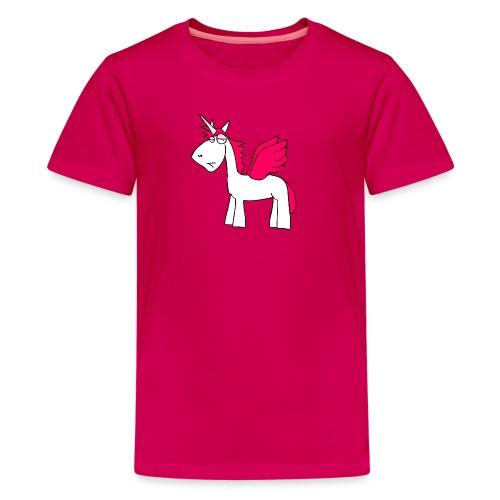 einhorngirl - Teenager Premium T-Shirt