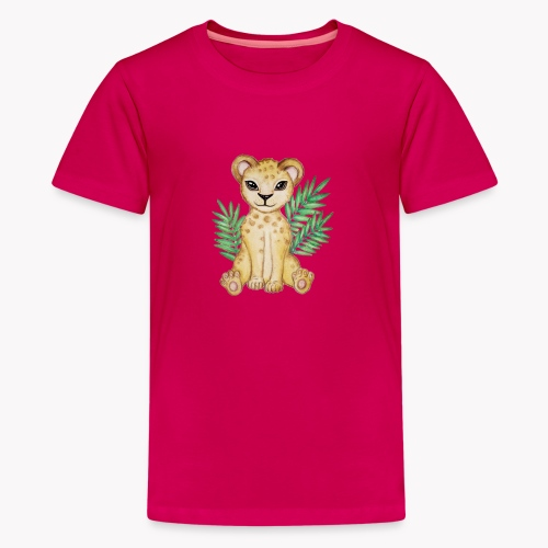 Löwenbaby - Teenager Premium T-Shirt