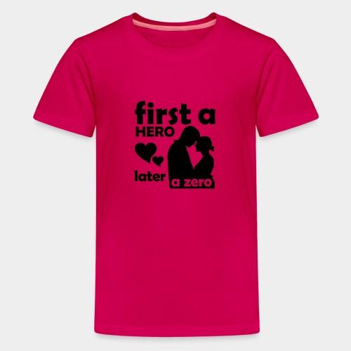 GHB from Hero to Zero 19032018 6 FA - Teenager Premium T-Shirt