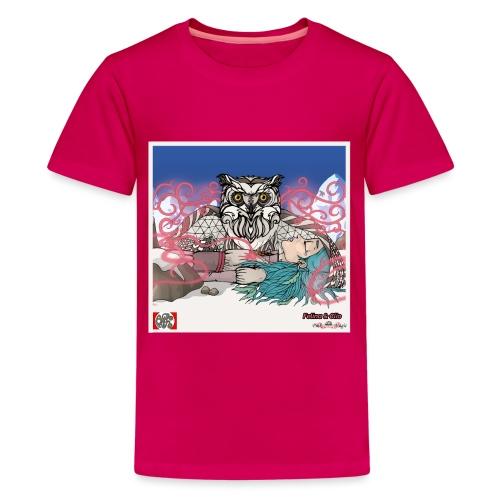 Pink Magic 11 spread png - Teenager premium T-shirt