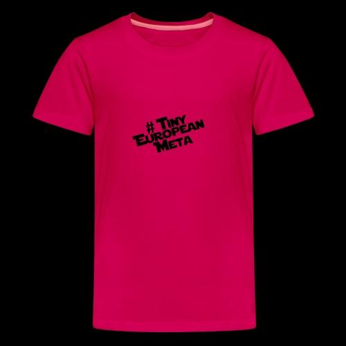 TEM Black - Teenage Premium T-Shirt