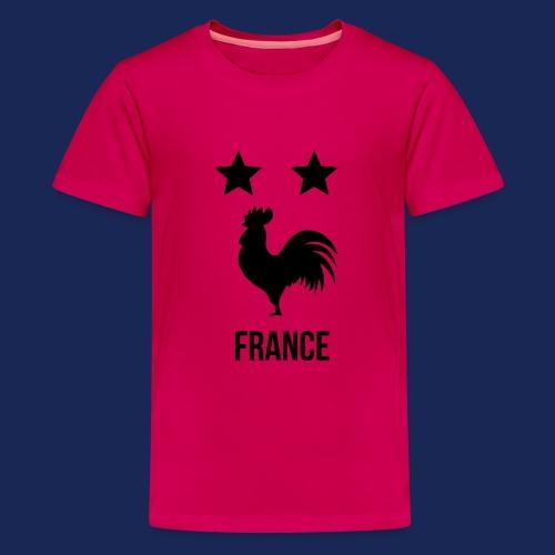 FRANCE 2018 - T-shirt Premium Ado