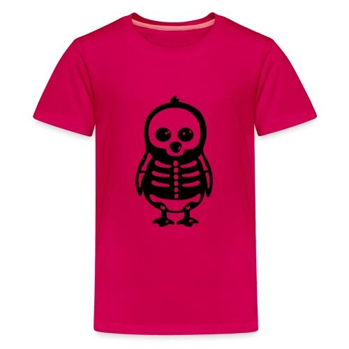 Pingouin Squelette - T-shirt Premium Ado