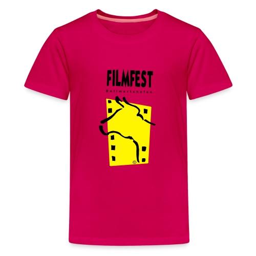 Filmfest Logo - Teenager Premium T-Shirt