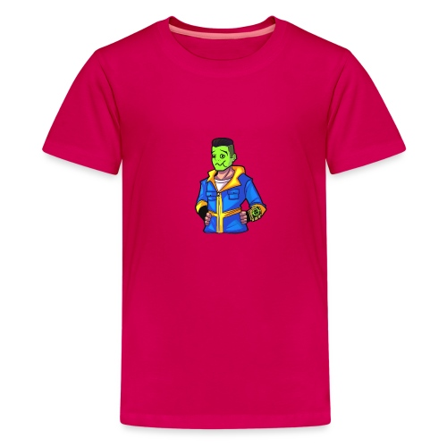 fallout emotes 022 - Teenage Premium T-Shirt