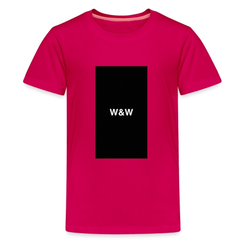 W&W Logo - Teenage Premium T-Shirt