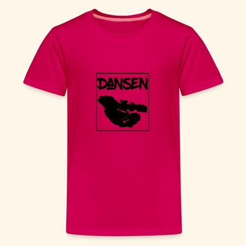 Dansen Karta - Premium-T-shirt tonåring