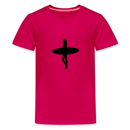 Surfergirl - Teenager Premium T-Shirt