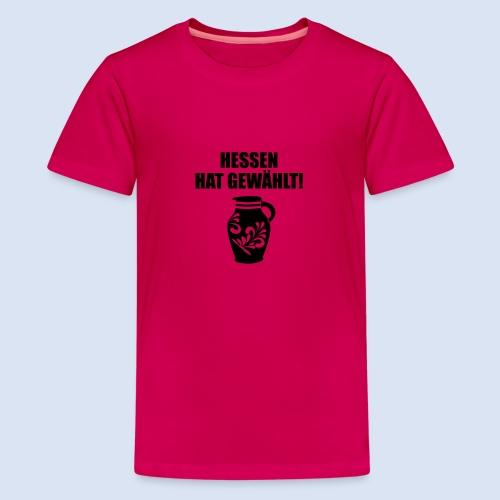 Hessenwahl Bembel - Teenager Premium T-Shirt