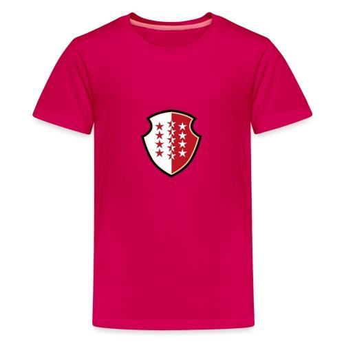 Bouclier Valaisan - T-shirt Premium Ado
