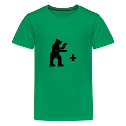 hemelogovektori - Teinien premium t-paita