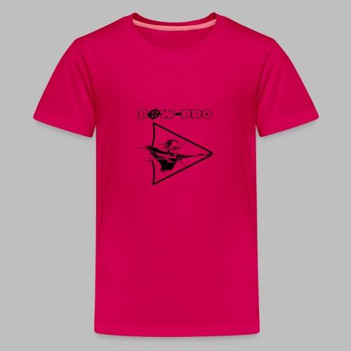 Bow-Bro Logo - Teenager Premium T-Shirt
