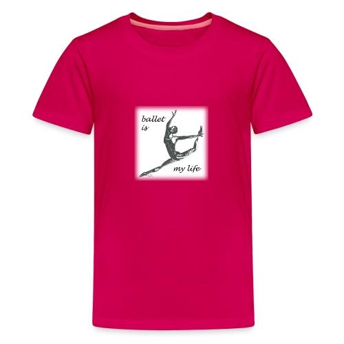 ballet modern - Teenager Premium T-Shirt
