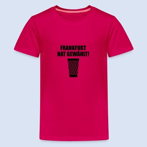 Frankfurt Wahl - Teenager Premium T-Shirt