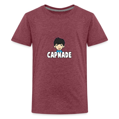 Basic Capnade's Products - Teenage Premium T-Shirt