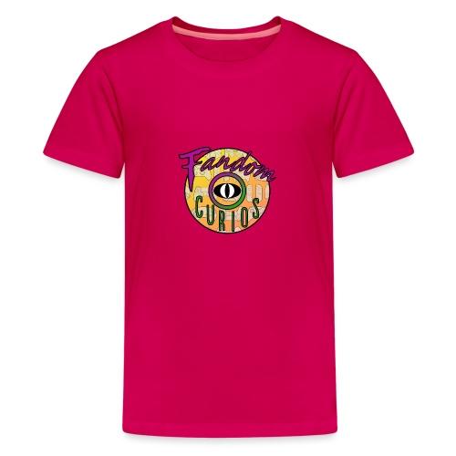 Fandom Curios LOGO - Teenage Premium T-Shirt