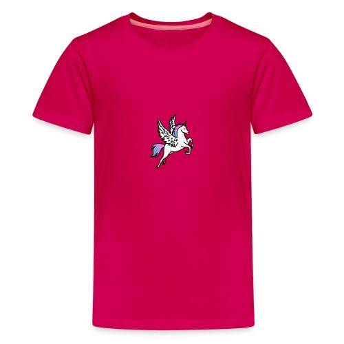 Fliegendes Einhorn - Teenager Premium T-Shirt