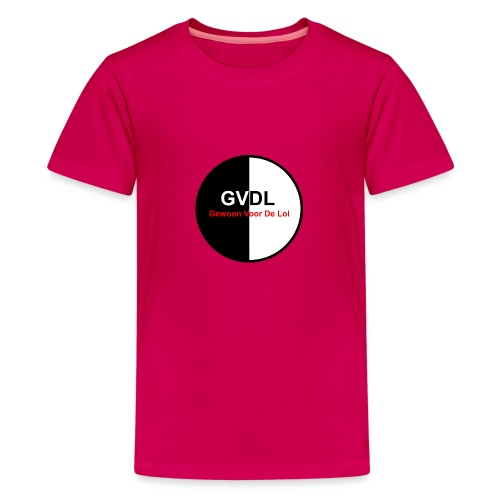 GVDL Logo - Teenager Premium T-shirt
