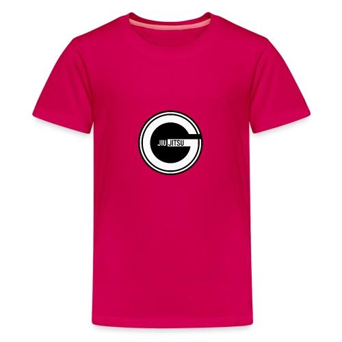 Godalmingbjjlog1 - Teenage Premium T-Shirt
