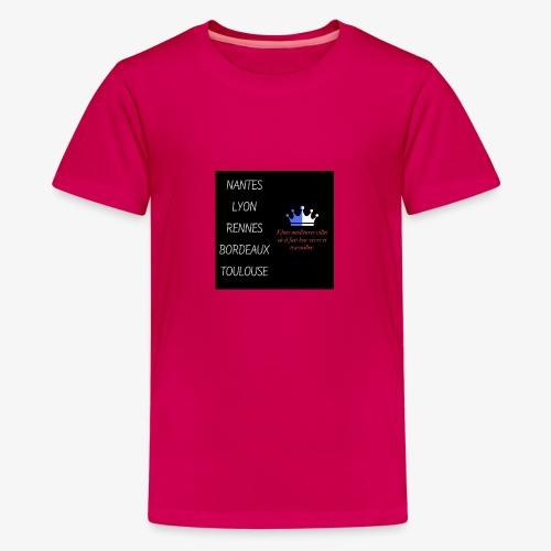 Meilleures villes de France - T-shirt Premium Ado