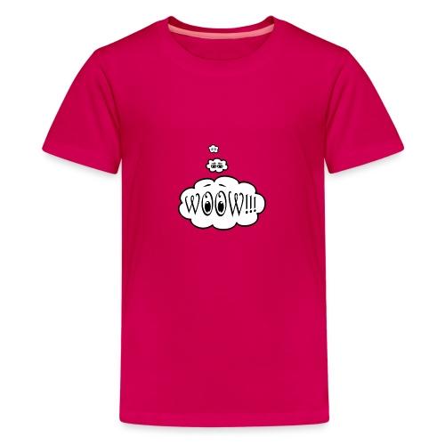 Woow - Camiseta premium adolescente