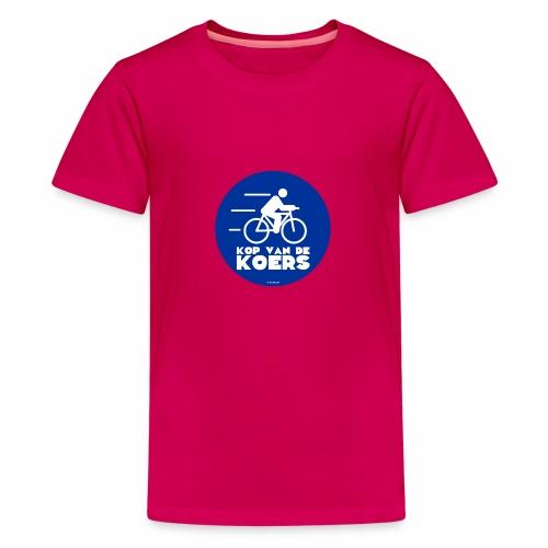 Kop van de koers - Teenager Premium T-shirt
