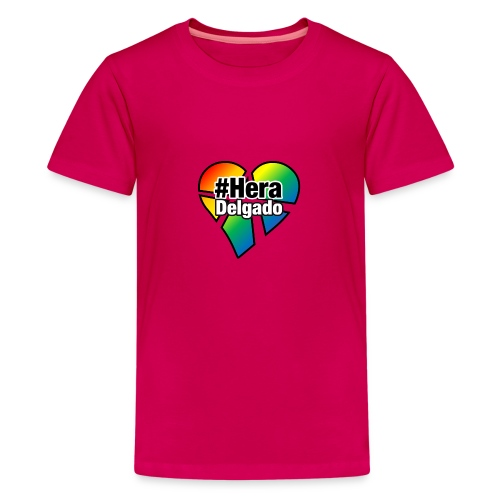 #HeraDelgado - Teenager Premium T-Shirt