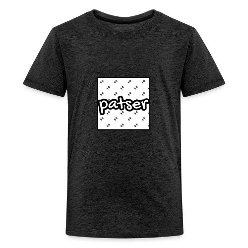 Patser - Basic Print White - Teenager Premium T-shirt