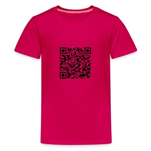 static qr code without logo2 png - Maglietta Premium per ragazzi