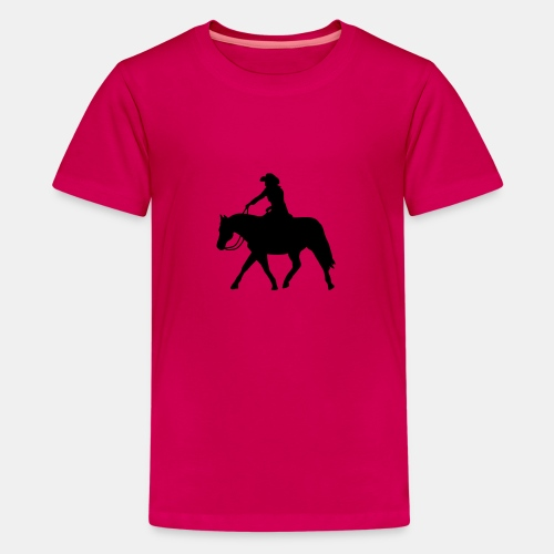 Ranch Riding extendet Trot - Teenager Premium T-Shirt
