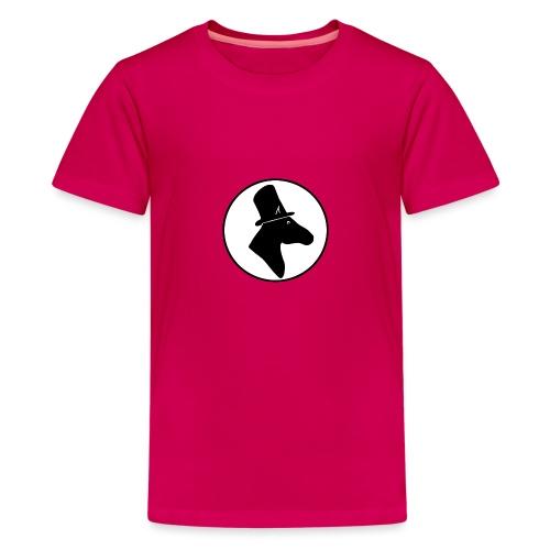 Herr Pferd Logo - Teenager Premium T-Shirt