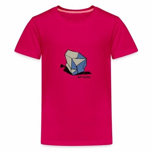 ART ROCK No 1 colour - Teenager Premium T-shirt