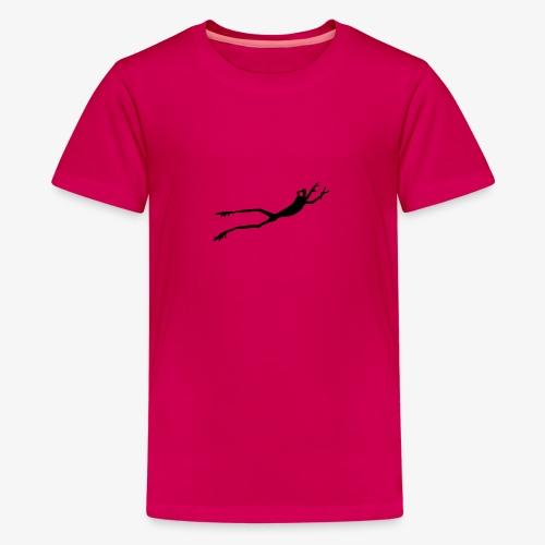 Black Frog - Premium T-skjorte for tenåringer