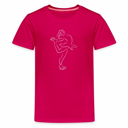 Eiskunstläuferin - Teenager Premium T-Shirt