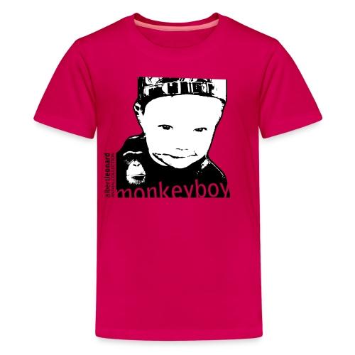monkeyboy - Premium T-skjorte for tenåringer