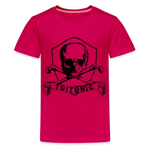cover entwurf 03sw - Teenager Premium T-Shirt