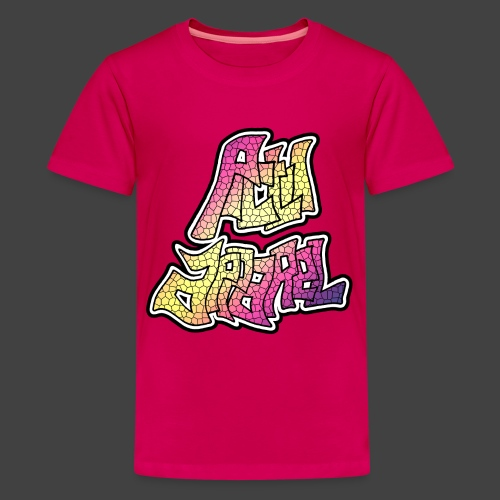 PA LOGO - 6 - Teenage Premium T-Shirt