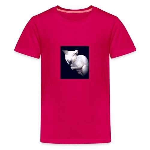 Cat Pow£r - Camiseta premium adolescente