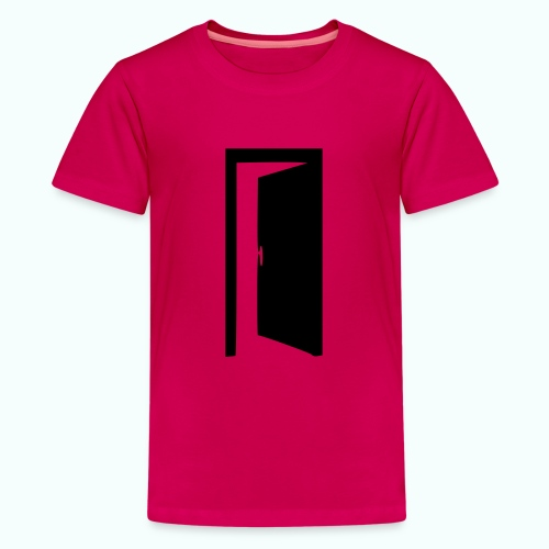 komm rein ... bin offen - Teenager Premium T-Shirt