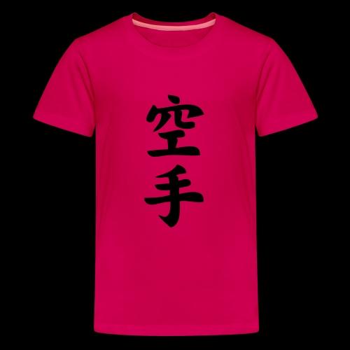 karate - Koszulka młodzieżowa Premium