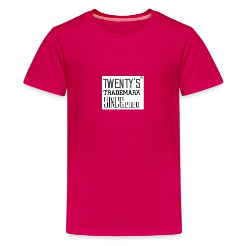 TWENTY'S TM - Teenager Premium T-Shirt