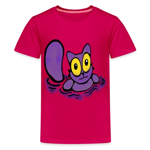 Katzenbad - Teenager Premium T-Shirt